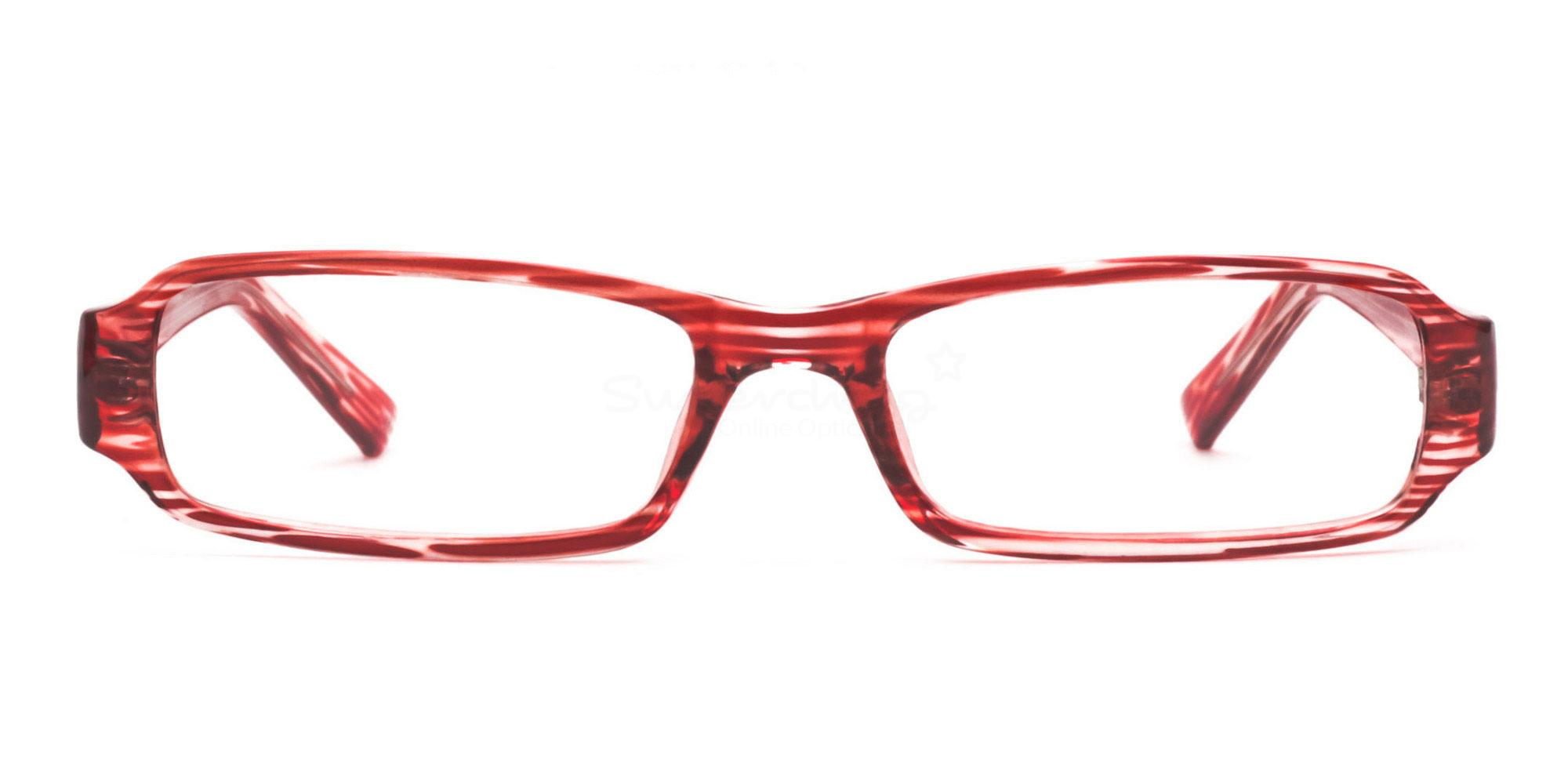 C14 Red 77088 (Red) Glasses, Helium
