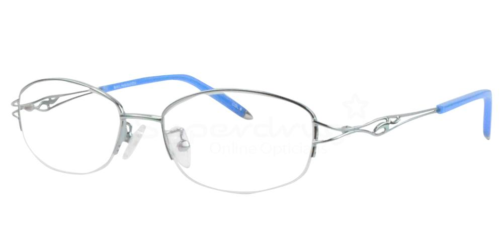 Silver/Blue B-2234 Glasses, Radon