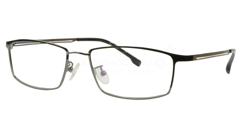 Gunmetal 8136 Glasses, Radon