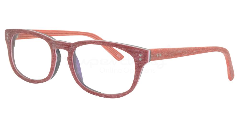 Burgundy/Black SDM3016 Glasses, Radon