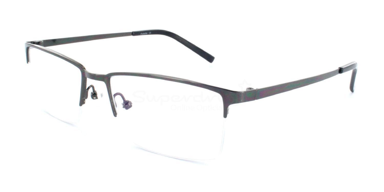Gunmetal 9340 Glasses, Radon