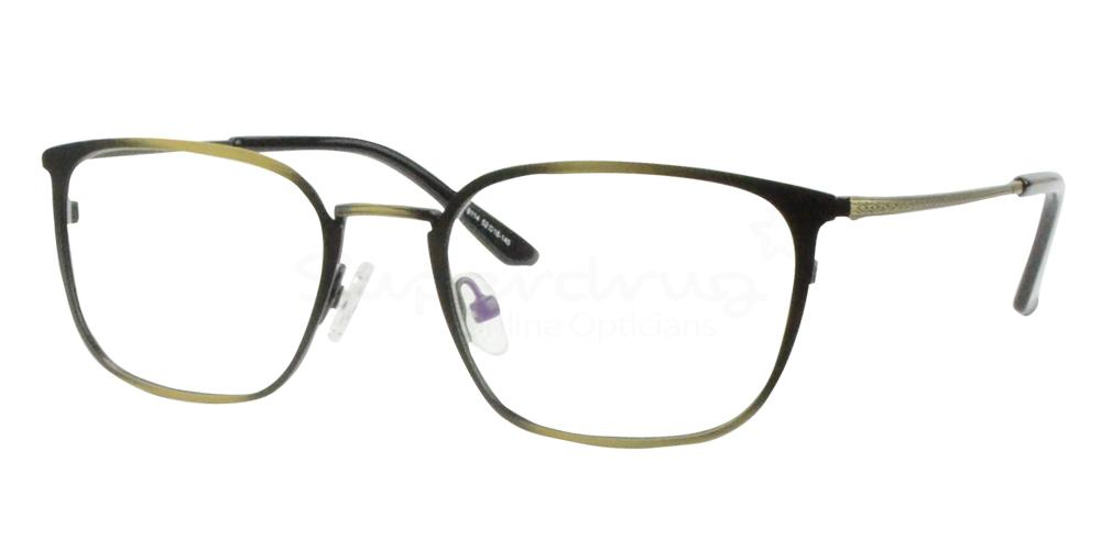 Antique Gold/Black 8114 Glasses, Radon