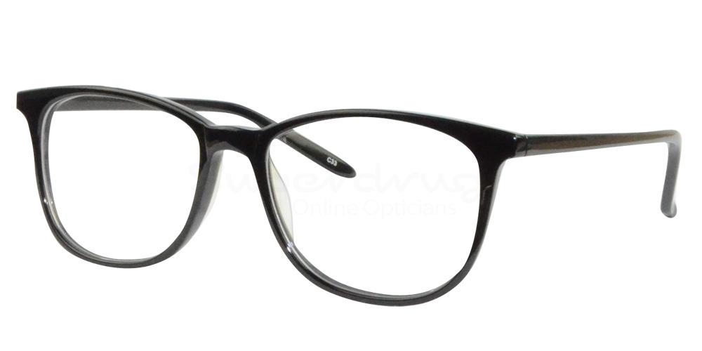 Black BL8010 Glasses, Radon