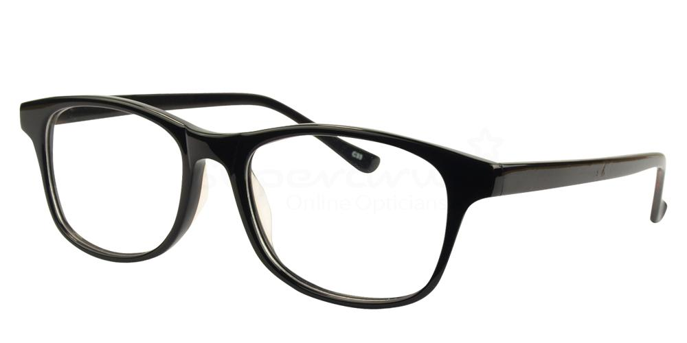 Black BL8019 Glasses, Radon