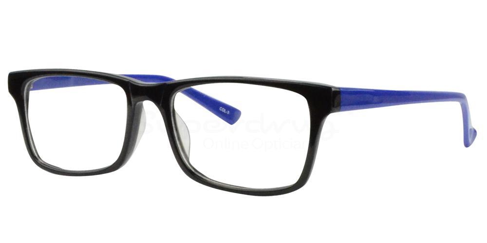 Black/Blue BL8003 , Radon