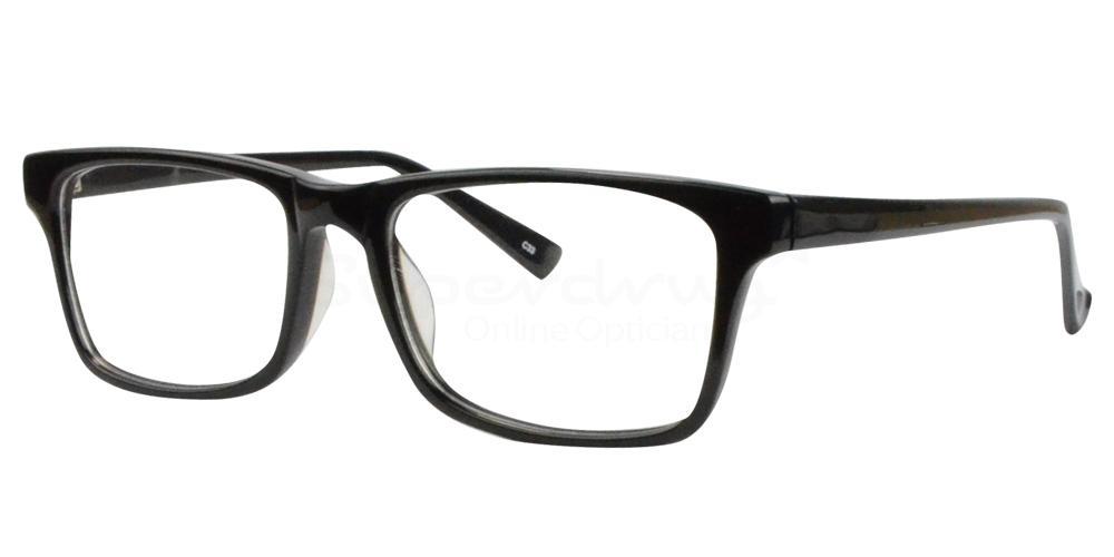Black BL8003 Glasses, Radon