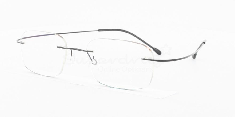 Black M205 Glasses, Indium