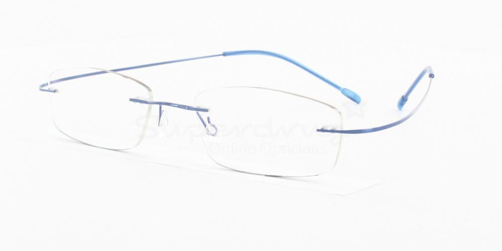 Blue M208 Glasses, Indium