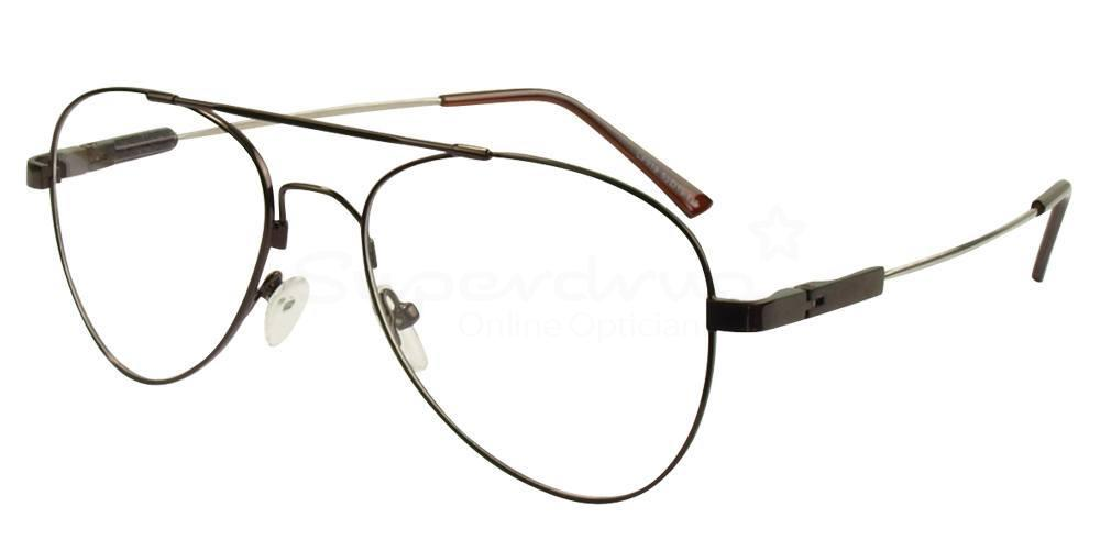 Dark Brown CF919 Glasses, Immense