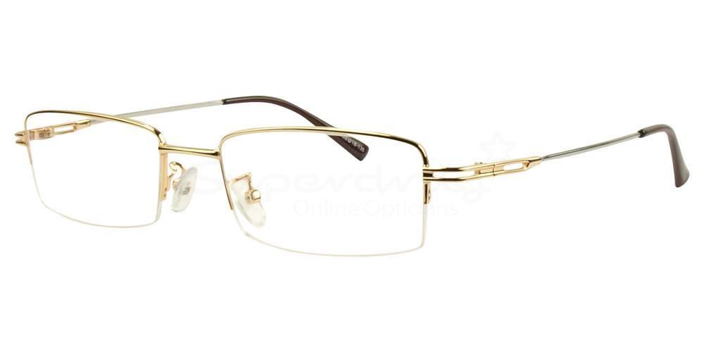 Gold 666 Glasses, Indium
