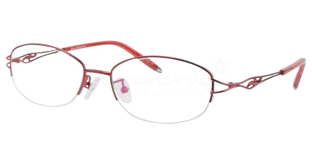 Red B-2234 Glasses, Radon