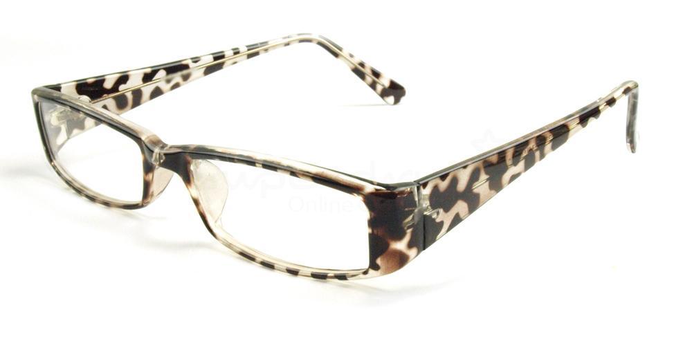 C03 P2251 - Animal Print Glasses, Helium