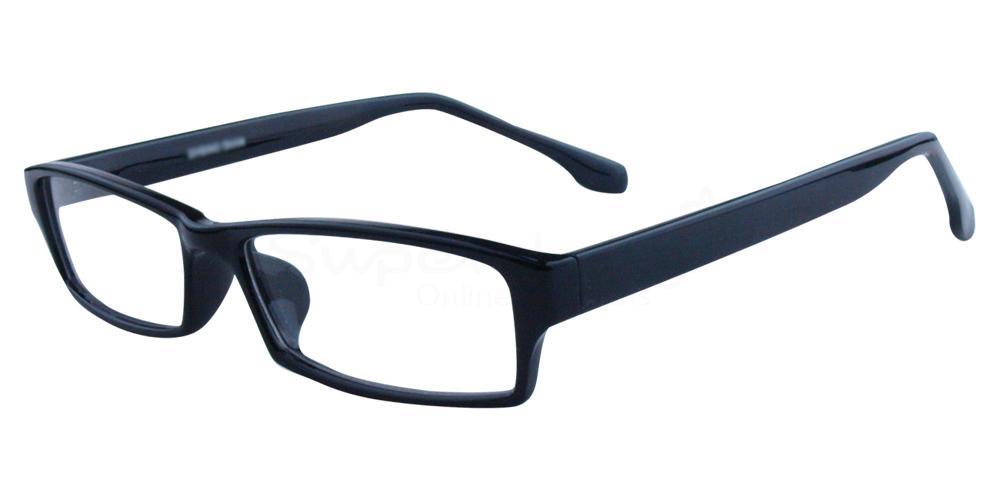 C1 P2381 - Black Glasses, Helium