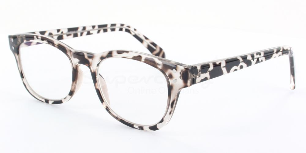 Col.03 2249 - Animal Print Glasses, Helium