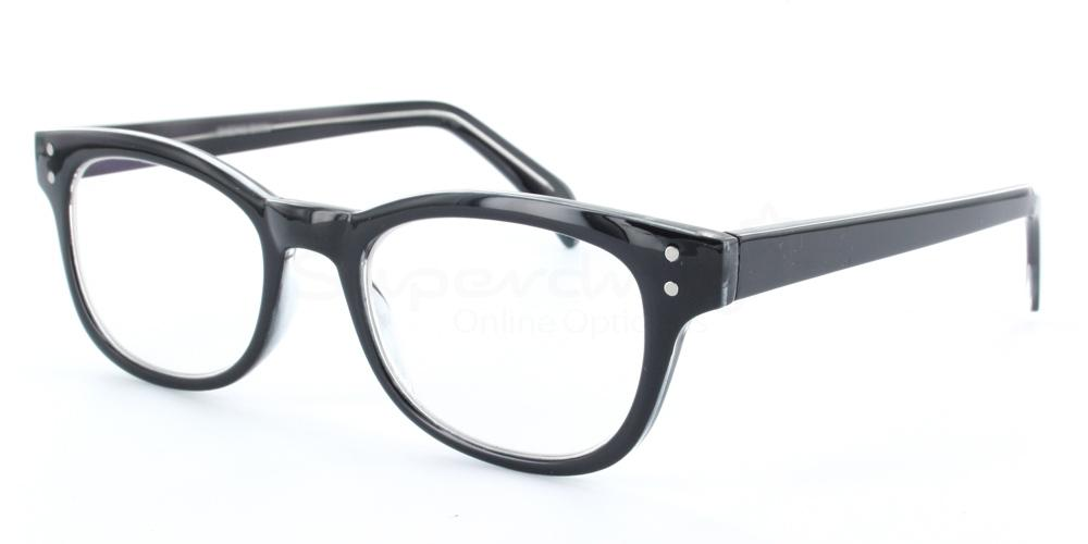 Col.33 P2249 - Black/Clear Glasses, Helium