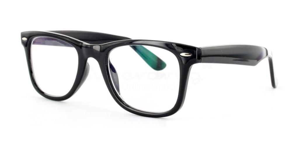 Black P2429 - Black Glasses, Helium