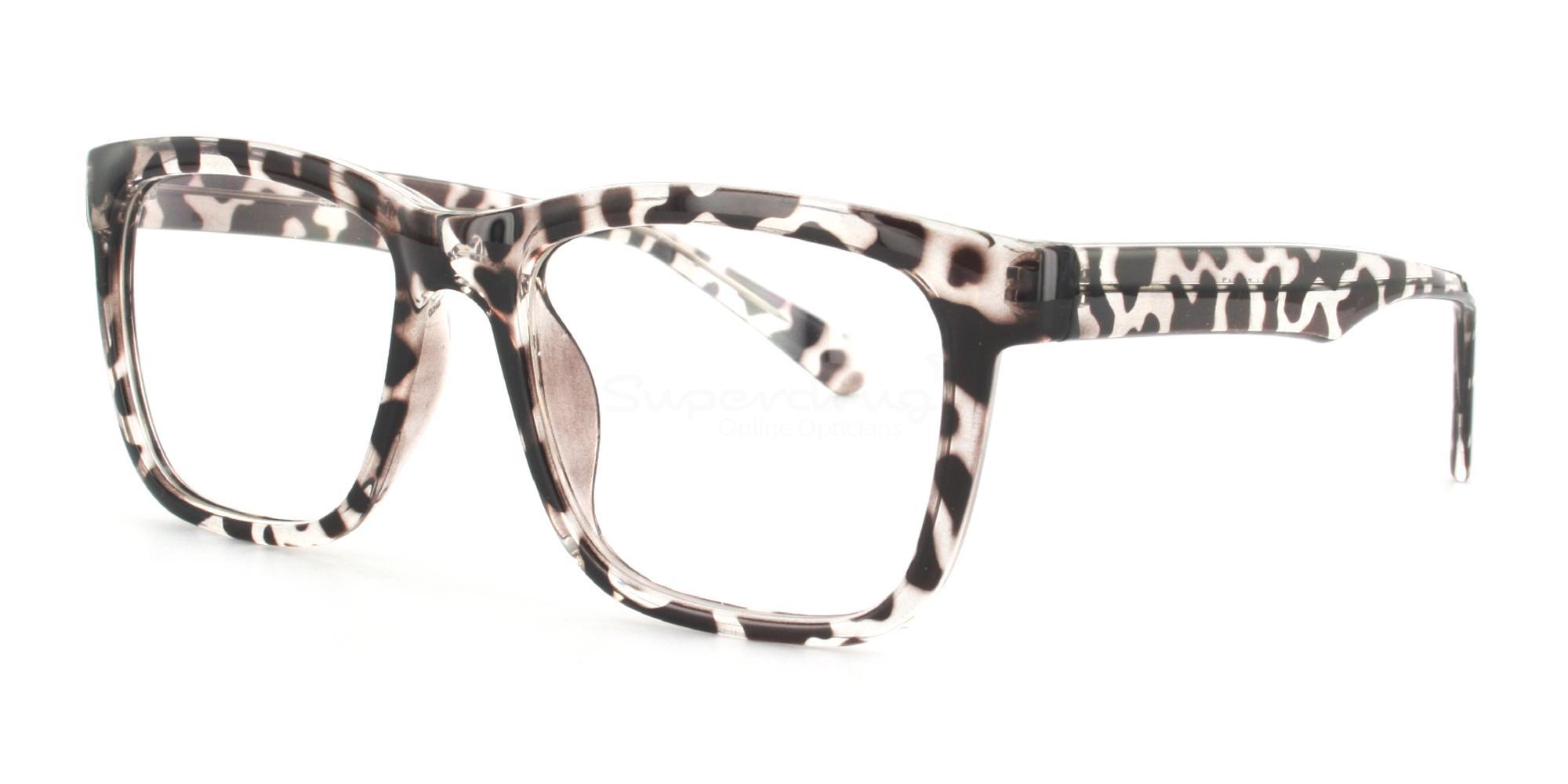 COL.03 2444 - Animal Print Glasses, Helium