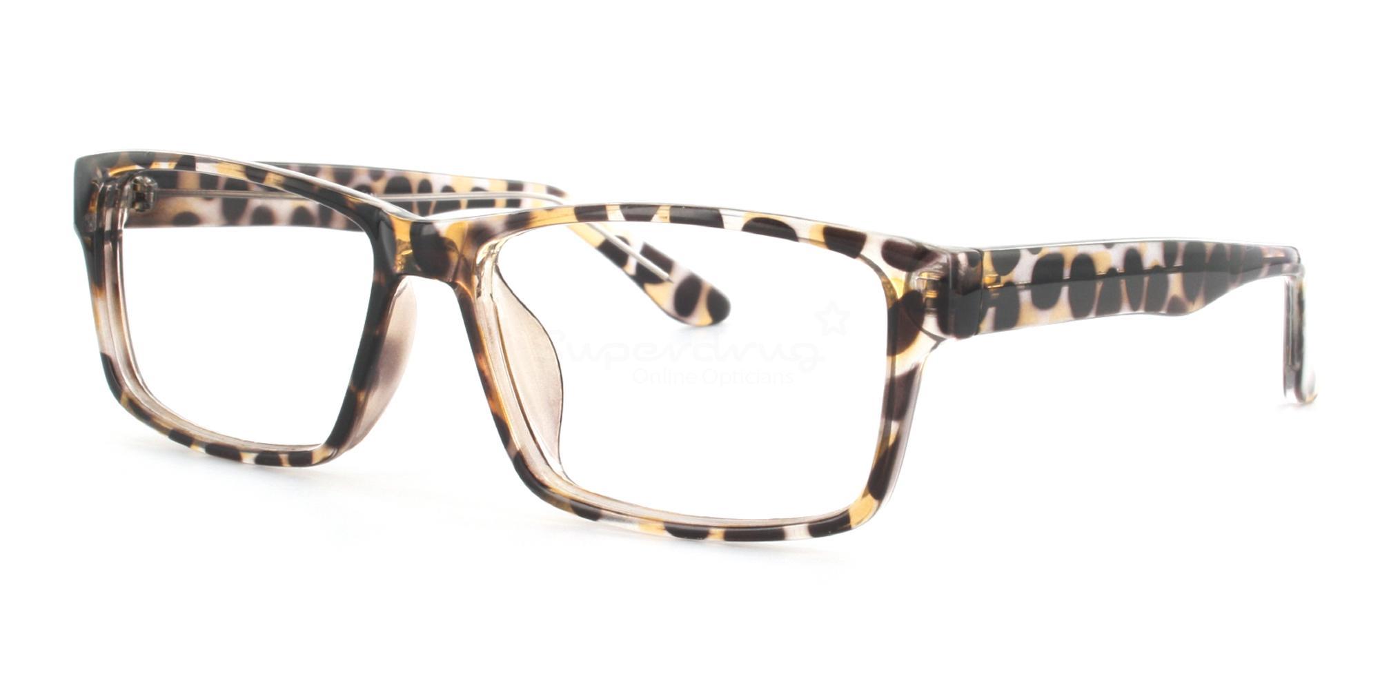 COL.06 2376 - Animal Print Glasses, Helium