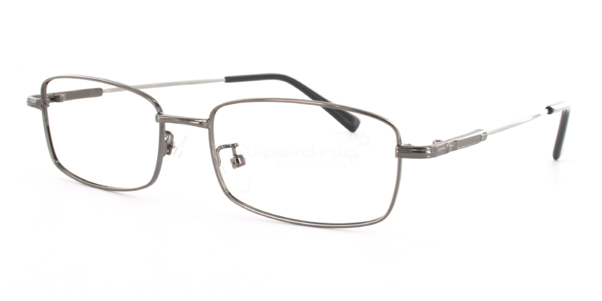 Gunmetal 8052 - Gunmetal Glasses, Helium