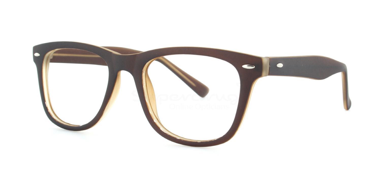 C8 8121 - Brown Glasses, Helium