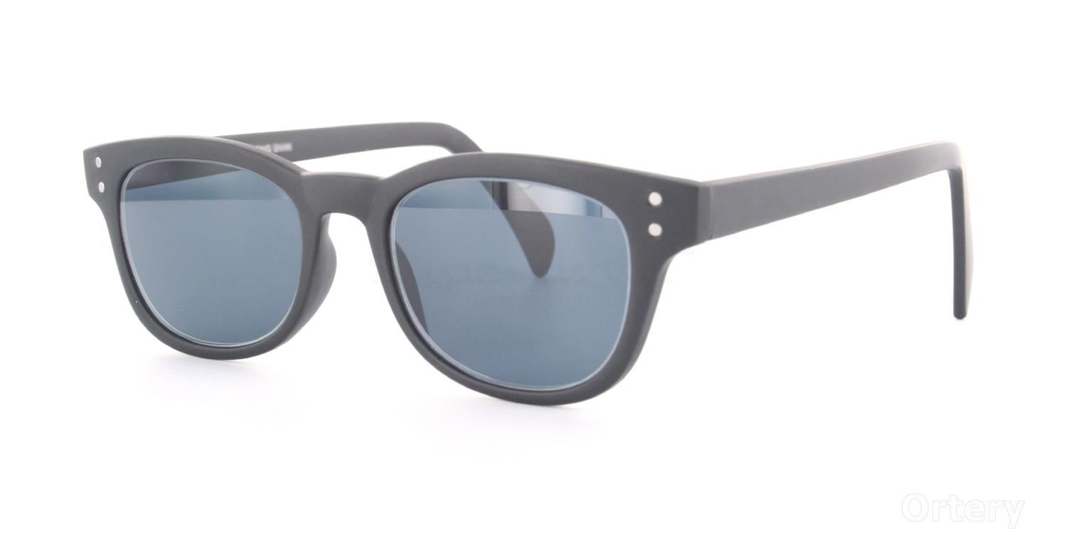 C02 Dark Grey 2249 - Matte Black (Sunglasses) Sunglasses, Indium