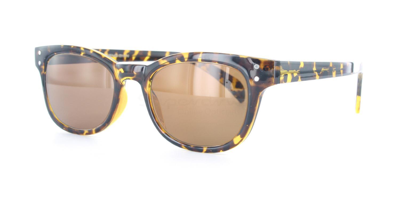 C01 Polarized Brown P2249 - Havana (Polarized) Sunglasses, Neon