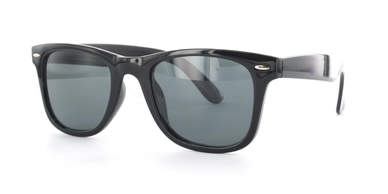 C01 Polarized Grey P2429 - Black (Polarized) Sunglasses, Neon