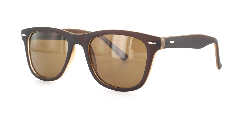 C8 8121 - Brown (Sunglasses) Sunglasses, Helium