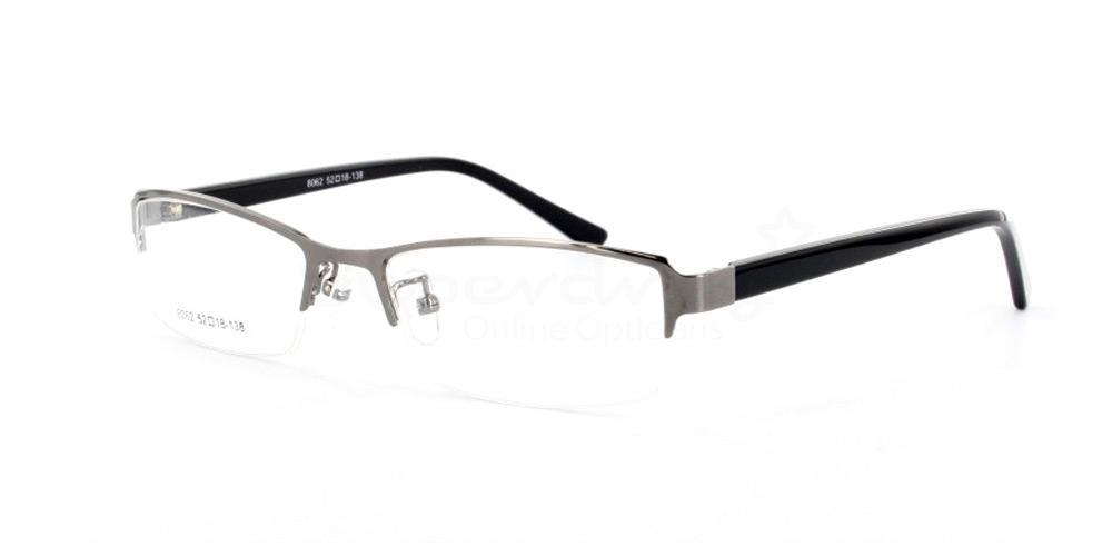 Shiny Gunmetal 8062 Glasses, Indium