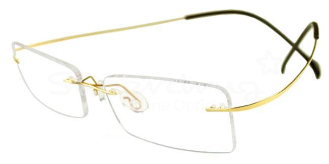 Gold 2008 Glasses, Cobalt
