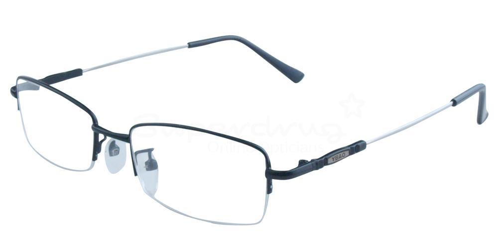 Black 8001 Glasses, Indium