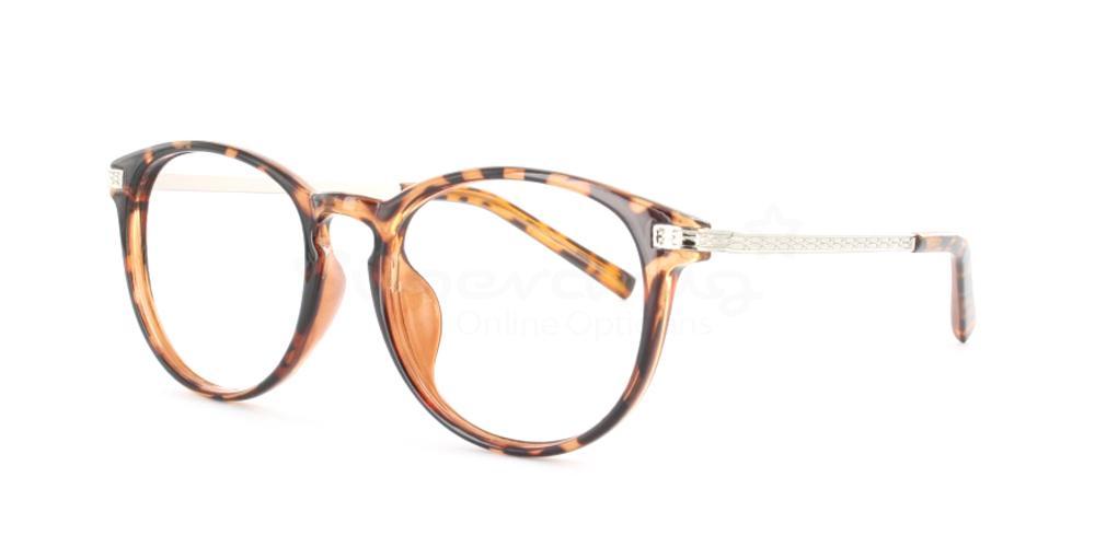 Demi Havana P77333 Glasses, Immense