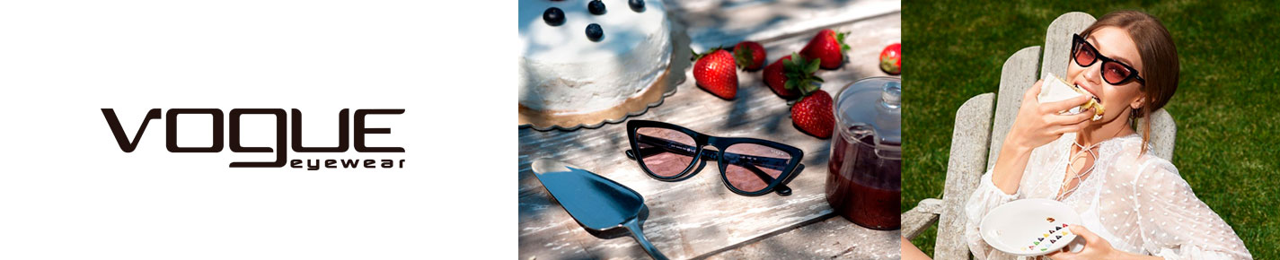 Vogue Sunglasses banner