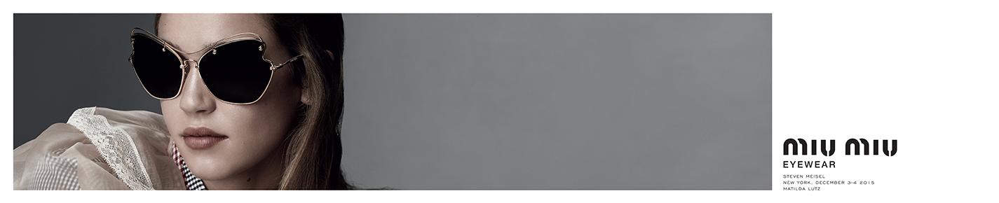 Miu Miu Sonnenbrillen banner