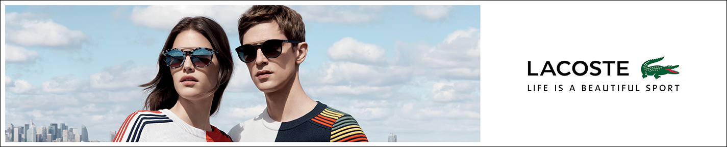 Lacoste 太阳镜 banner