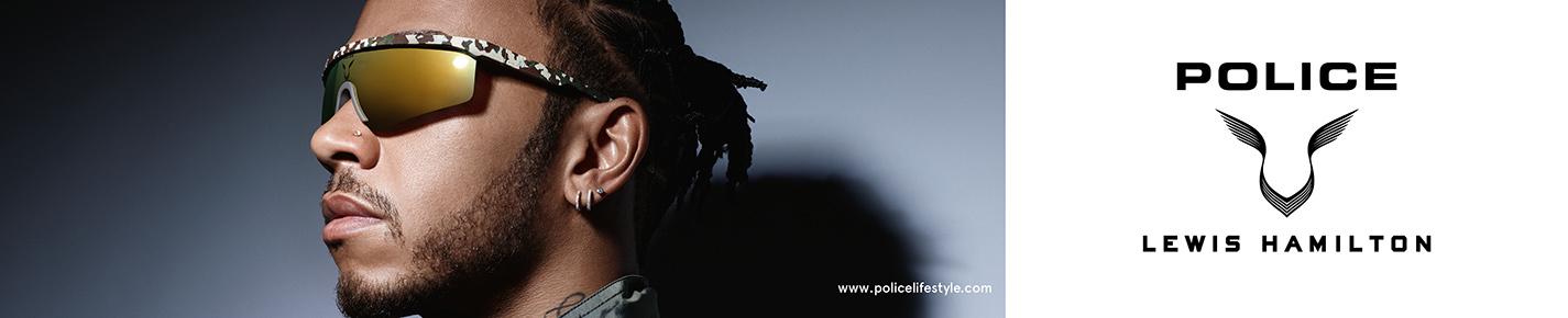 Police Gafas de sol banner