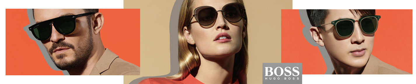 BOSS Hugo Boss Sunglasses banner