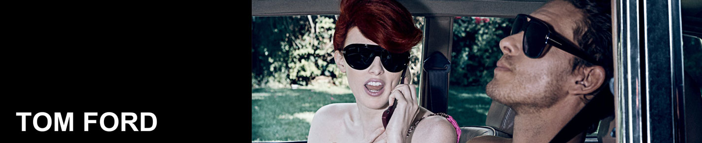 Tom Ford Sunglasses banner