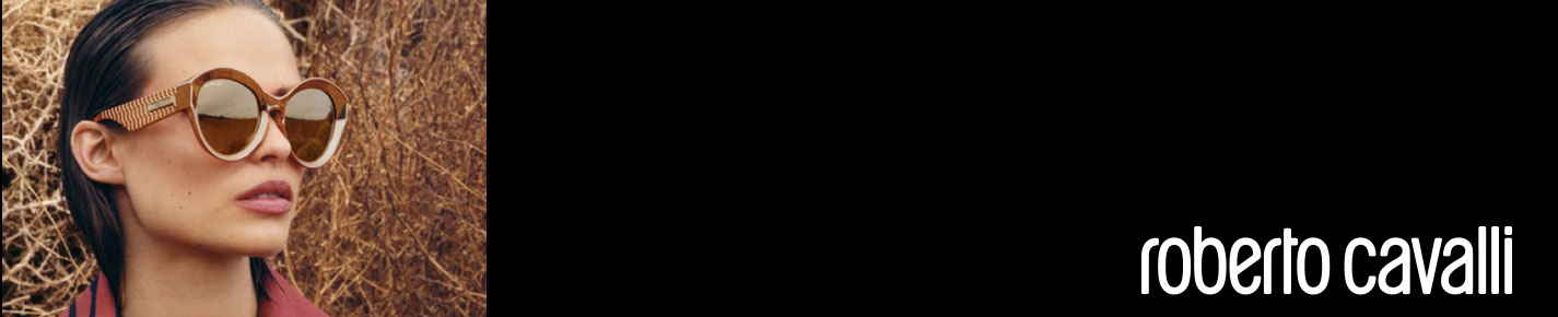 Roberto Cavalli Sunglasses banner