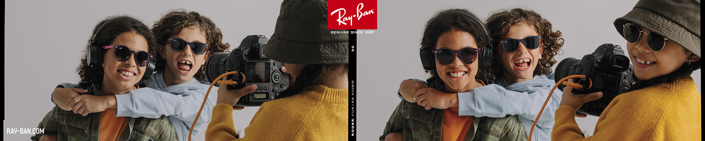 Ray-Ban JUNIOR Sunglasses banner