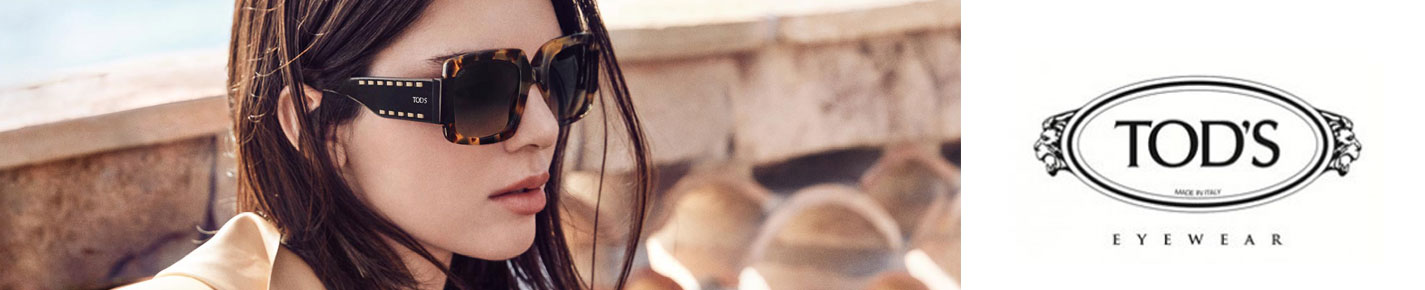 TODS Sunglasses banner