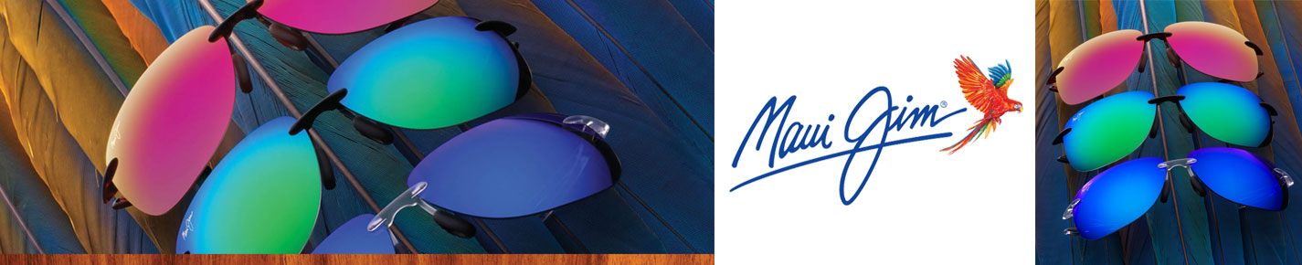 Maui Jim Sunglasses banner
