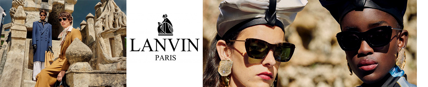 Lanvin Paris Sunglasses banner