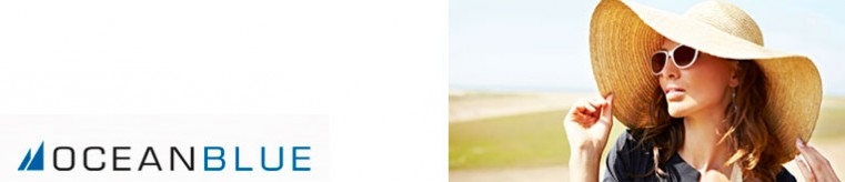 Ocean Blue Солнцезащитные очки banner