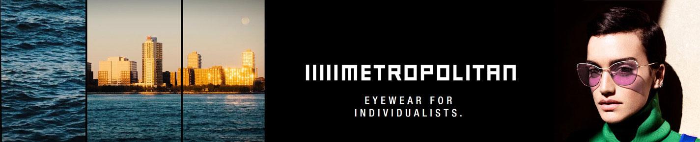 METROPOLITAN Sunglasses banner