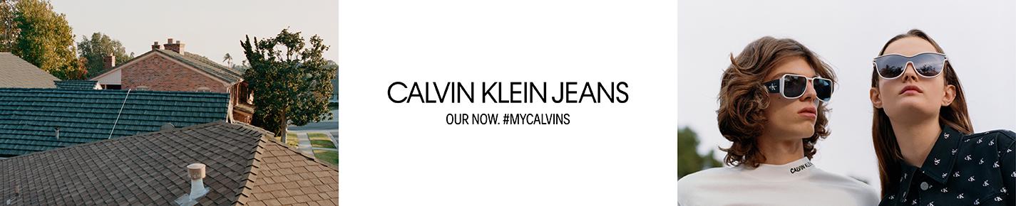 Calvin Klein Jeans Sunglasses banner