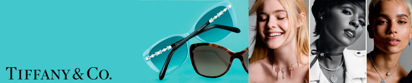 Tiffany & Co. Sunglasses banner
