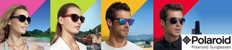 Polaroid Sunglasses banner