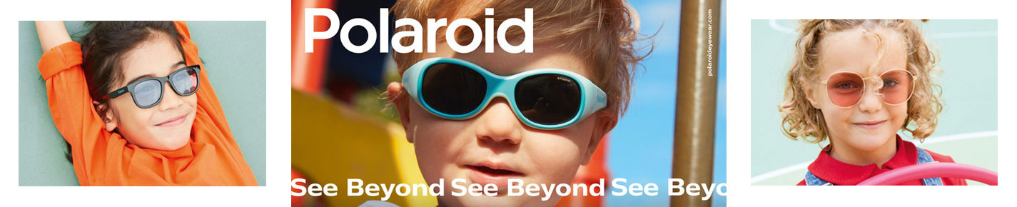 Polaroid Kids Sunglasses banner