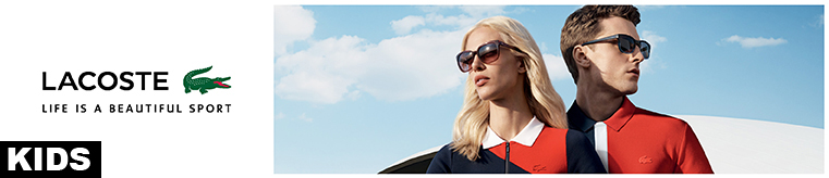 Lacoste Kids Sunglasses banner